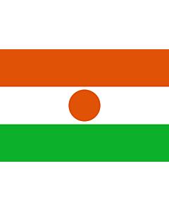 Fahne: Niger
