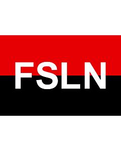 Fahne: FSLN | Fuimos siempre ladrones nacionales