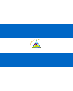 Fahne: Nicaragua