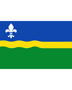 Fahne: Flevoland