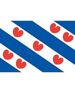 Fahne: Friesland
