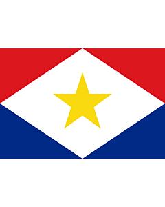 Fahne: Saba
