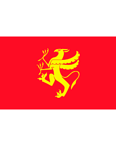 Fahne: Troms
