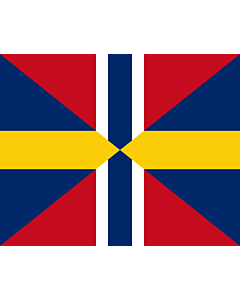 Fahne: Union Jack of Sweden and Norway 1844-1905