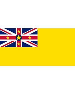 Fahne: Niue