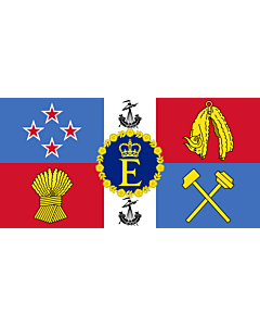 Fahne: Royal Standard of New Zealand | Queen Elizabeth II s personal flag for New Zealand