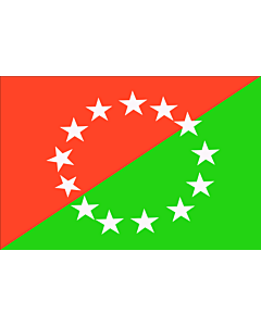 Fahne: Chiriqui  Panamà