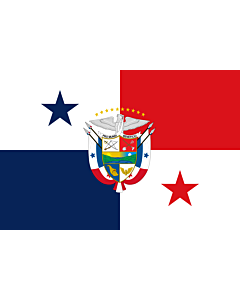 Fahne: Presidential Flag of Panama | Presidencial de Panamá