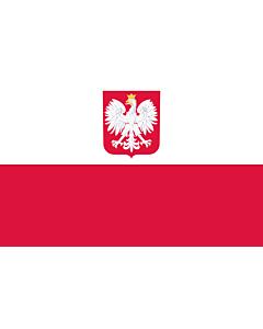 Fahne: Polen