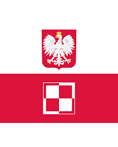 Fahne: Commander-in-Chief of the Polish Air Force | Polish Air Force Commander-in-Chief s flag | Dowódcy Sił Powietrznych RP