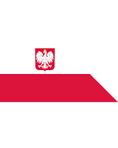 Fahne: Naval Ensign of Poland