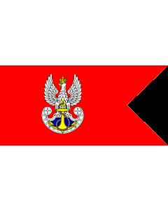 Fahne: Polish Navy