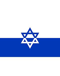 Fahne: ZOB  Jewish Fighting Organization | Żydowska Organizacja Bojowa | דגל ארגון אי ל - הארגון היהודי הלוחם  שחזור על סמך העדויות
