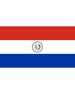 Fahne: Paraguay