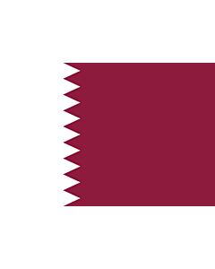 Fahne: Katar
