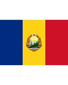 Fahne: Romania  1965-1989 | Romania