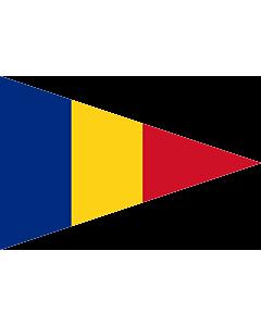 Fahne: Romanian Lieutenant Commander  1939