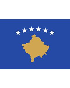 Fahne: Kosovo