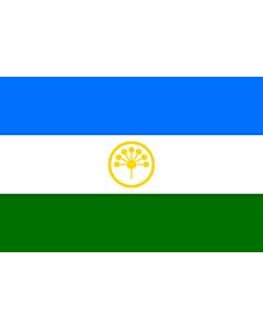 Fahne: Baschkortostan