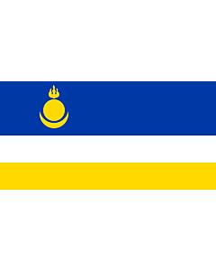 Fahne: Buryatia