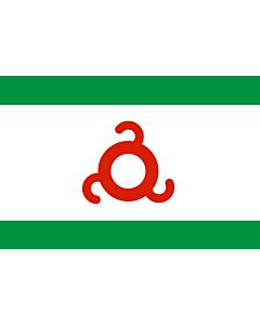 Fahne: Inguschetien