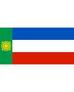 Fahne: Chakassien