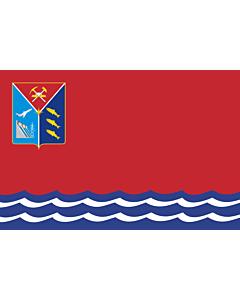 Fahne: OblastMagadan
