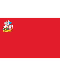 Fahne: OblastMoskau