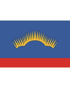 Fahne: OblastMurmansk