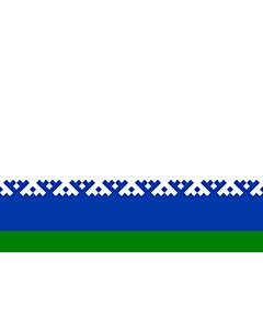 Fahne: Autonome Kreis der Jamal-Nenzen
