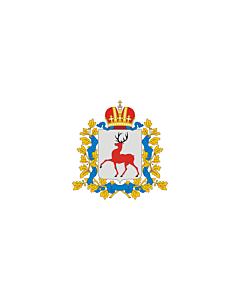 Fahne: OblastNischni Nowgorod