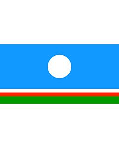 Fahne: Sakha (Yakutia)