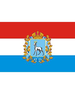 Fahne: OblastSamara