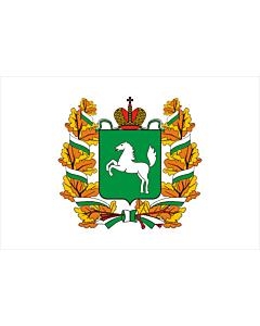 Fahne: OblastTomsk