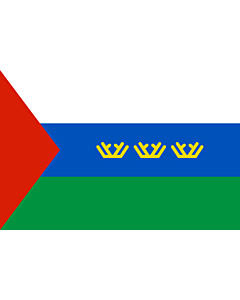 Fahne: OblastTjumen