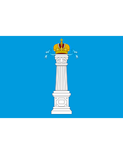 Fahne: OblastUljanowsk