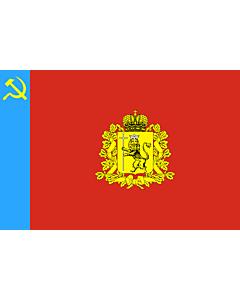 Fahne: OblastWladimir