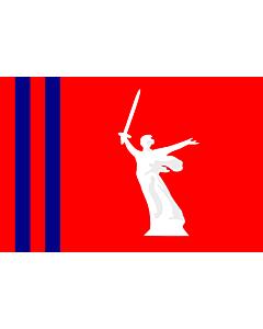 Fahne: OblastWolgograd