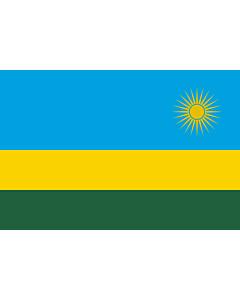 Fahne: Ruanda