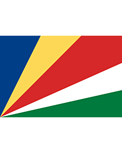 Fahne: Seychellen