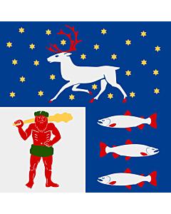 Fahne: Västerbotten