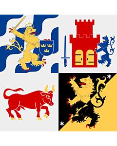 Fahne: Västra Götalands län