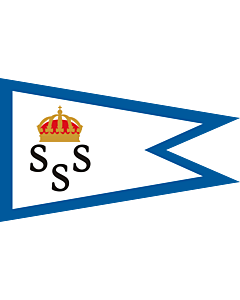 Fahne: Burgee of KSSS members