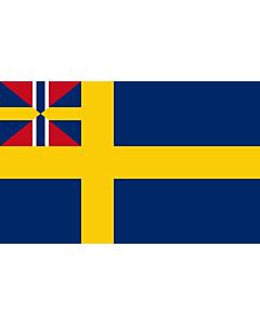 Fahne: Swedish norwegian union