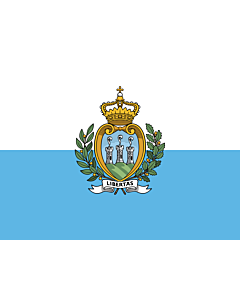Fahne: San Marino