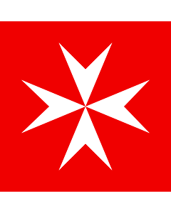 Fahne: Souveräner Malteserorden