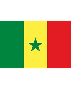 Fahne: Senegal