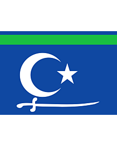 Fahne: SSC | SSC State between 2009 and 2012 representing the Sool Sanaag Ayn/Cayn regions  Somalia | Флаг Сул-Санааг-Айна  Сомали