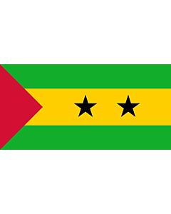 Fahne: São Tomé und Príncipe