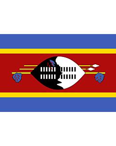Fahne: Swasiland